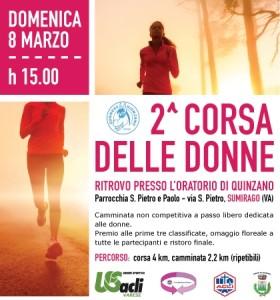 8 marzo 2015 2° Corsa delle Donne USAcli  Varese 1