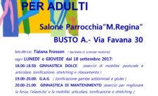 Collaborazione per attività sportiva e movimento USAcli Varese, Circolo Acli e Parrocchia M.Regina