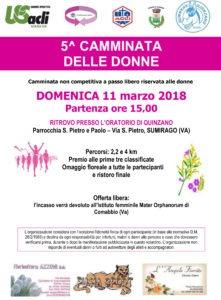 5° Camminata delle Donne USAcli Varese