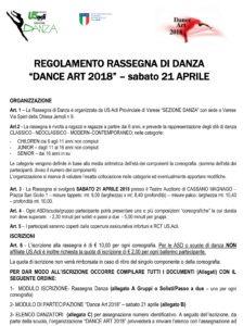 3°rasssegna di danza USAcli Varese 1