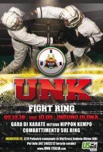 Gara provinciale Karate metodo Nippon Kempo UNK Fight USAcli Varese